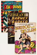 Golden Age (1938-1955):Miscellaneous, Comic Books - Assorted Golden Age Comics Group (Various Publishers, 1942-59) Condition: Average VG.... (Total: 12 Comic Books)