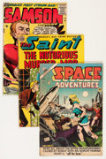 Golden Age (1938-1955):Miscellaneous, Comic Books - Assorted Golden Age Comics Group (Various Publishers, 1943-57) Condition: Average GD.... (Total: 32 Comic Books)
