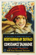 """Movie Posters:Comedy, The Duchess of Buffalo (First National, 1926). Swedish One Sheet(27.5"""" X 39.5""""). Directed by Sidney A. Franklin. Starring C..."""