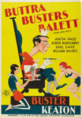 "Movie Posters:Comedy, Free and Easy (MGM, 1930). Swedish One Sheet (27.5"" X 39.5"").Directed by Edward Sedgwick. Starring Buster Keaton, Anita Pag..."
