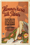 """Movie Posters:Comedy, French Dressing (First National, 1927). Swedish One Sheet (27"""" X40.75""""). Directed by Allan Dwan. Starring Clive Brook, Lois..."""