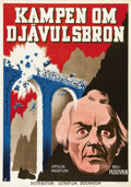 "Movie Posters:War, General Suvorov (Artkino, 1941). Swedish One Sheet (27.5"" X 39.5"").Directed by V.I. Pudovkin and Mikhail Doller. Starring A..."