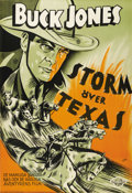 "Movie Posters:Western, Law of the Texan (Columbia, 1938). Swedish One Sheet (27.5"" X39.5""). Directed by Elmer Clifton. Starring Buck Jones, Doroth..."