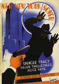 """Movie Posters:Drama, Now I'll Tell (Fox, 1934). Swedish One Sheet (27.5"""" X 39.5""""). Directed by Edwin J. Burke. Starring Spencer Tracy and Alice F..."""