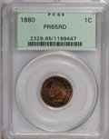 Proof Indian Cents: , 1880 1C PR65 Red PCGS. PCGS Population (61/25). NGC Census: (23/11). Mintage: 3,955. Numismedia Wsl. Price for NGC/PCGS coi...