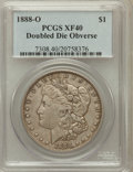 Morgan Dollars: , 1888-O $1 Doubled Die Obverse XF40 PCGS. PCGS Population (64/229)....