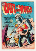 Golden Age (1938-1955):Science Fiction, Out of This World #1 Canadian reprint (Avon, 1950) Condition:VG+....