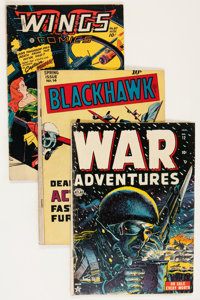 Comic Books - Assorted Golden Age War Comics Group (Various Publishers, 1950s) Condition: Average GD/VG.... (Total: 19 C...
