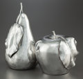 Silver & Vertu:Hollowware, TWO BUCCELLATI ITALIAN SILVER FRUIT LIGHTERS . Buccellati, Milan, Italy, circa 1960. Marks: BUCCELLATI, STERLING, ITALY, 9... (Total: 2 )