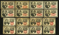 Fractional Currency:Fifth Issue, Sixteen Fifth Issue Fractionals.. ... (Total: 16 notes)