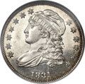 Bust Dimes, 1831 10C MS64 Prooflike NGC. CAC. JR-2, R.3....