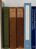Books:Books about Books, [Books About Books]. Group of Six Books, Including Three by A. Edward Newton. Various editions and publishers. One volume wi... (Total: 6 Items)