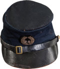 """Military & Patriotic:Civil War, I.D.'d Union Model-1858 Cavalry Officer's Forage """"McDowell"""" Cap...."""