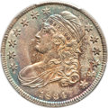 Bust Half Dollars, 1834 50C Small Date, Small Letters MS64 PCGS. O-109, R.1....