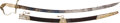 Edged Weapons:Swords, Circa 1830 American Eaglehead Mounted Infantry Officer's Saber....