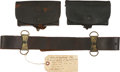 Arms Accessories, Three Pieces of Mann's Patent Civil War Equipment. ... (Total: 3 Items)