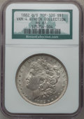 Morgan Dollars, 1882-O/S $1 Vam-4 O/S Recessed MS61 NGC. Top-100. Ex: BinionCollection. NGC Census: (0/0). PCGS Population (76/543)....