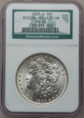 Morgan Dollars: , 1883-O $1 MS66 NGC. Ex: Binion Collection. NGC Census: (982/32).PCGS Population (698/35). Mintage: 8,725,000. Numismedia W...