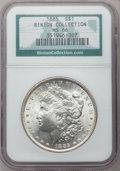 Morgan Dollars: , 1885 $1 MS66 NGC. Ex: Binion Collection. NGC Census: (1709/193).PCGS Population (1305/92). Mintage: 17,787,768. Numismedia...