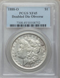 Morgan Dollars: , 1888-O $1 Doubled Die Obverse XF45 PCGS. PCGS Population (79/150)....