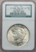 Peace Dollars: , 1923 $1 MS66 NGC. Ex: Binion Collection. NGC Census: (2977/90).PCGS Population (1700/46). Mintage: 30,800,000. Numismedia ...