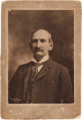 Photography:Cabinet Photos, Frank James: A Rare Cabinet Photo of Frank at Age Forty-Nine....