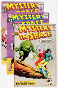 Silver Age (1956-1969):Science Fiction, Mystery in Space Group (DC, 1961-66) Condition: Average FN+.... (Total: 6 Comic Books)