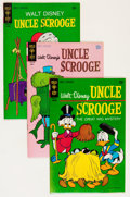Bronze Age (1970-1979):Cartoon Character, Uncle Scrooge Group (Gold Key, 1970-73) Condition: AverageVF/NM.... (Total: 5 Comic Books)
