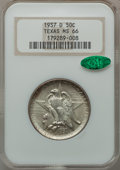 Commemorative Silver: , 1937-D 50C Texas MS66 NGC. CAC. NGC Census: (464/96). PCGSPopulation (503/128). Mintage: 6,605. Numismedia Wsl. Price for ...