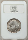 Commemorative Silver: , 1936 50C Elgin MS66 NGC. NGC Census: (715/128). PCGS Population(1156/137). Mintage: 20,015. Numismedia Wsl. Price for prob...