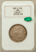 Commemorative Silver: , 1936-S 50C Arkansas MS65 NGC. CAC. NGC Census: (360/79). PCGSPopulation (364/144). Mintage: 9,662. Numismedia Wsl. Price f...