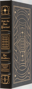 Books:Science Fiction & Fantasy, Ray Bradbury. SIGNED/LIMITED. From the Dust Returned. Easton Press, 2001. First edition, first printing. Limited t...