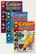 Bronze Age (1970-1979):Cartoon Character, Casper Spaceship/Strange Ghost Stories File Copy Group (Harvey,1970s) Condition: Average NM-.... (Total: 59 Comic Books)