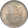Morgan Dollars: , 1896 $1 MS66 PCGS. CAC. PCGS Population (708/29). NGC Census:(624/53). Mintage: 9,976,762. Numismedia Wsl. Price for probl...
