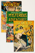 Golden Age (1938-1955):Miscellaneous, Comic Books - Assorted Golden Age Comics Group (Various Publishers, 1946-52).... (Total: 4 Comic Books)