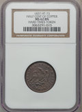 Hard Times Tokens, 1837 Half Cent of Copper MS62 NGC. Low-49, HT-73, R.2....