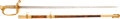Edged Weapons:Swords, Late 19th, Early 20th Century US M1852 Naval Officer's Sword....