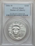 Modern Bullion Coins, 2006-W P$100 One-Ounce Platinum Eagle MS69 PCGS. PCGS Population(164/143). NGC Census: (109/355)....