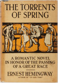 Books:Literature 1900-up, Ernest Hemingway. The Torrents of Spring. Scribners, 1926.First edition, later state. Dust jacket lists only tw...