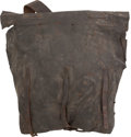 Arms Accessories:Flasks, Fine Complete Condition 1864 US Civil War Contract Knapsack / Soft Pack. ...