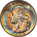 Washington Quarters, 1948-S 25C MS66 ★ Toned NGC. CAC. NGC Census: (1159/283). PCGSPopulation (848/53). Minta...