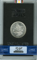 GSA Dollars: , 1881-O $1 GSA HOARD MS62 NGC. NGC Census: (19/85). PCGS Population(0/0). ...