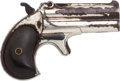 Handguns:Derringer, Palm, Remington Over & Under Derringer....