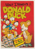 Golden Age (1938-1955):Cartoon Character, Four Color #178 Donald Duck (Dell, 1947) Condition: VG-....