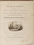 Books:Periodicals, Figaro in London. Bound Volume of Issues 5 - 146. Jan. 1832- Sept. 1834. London: W. Strange, ca. 1834. Contemporary...