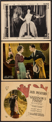 "Garrison's Finish & Other Lot (Allied Producers & Distributors, 1923). Lobby Cards (3) (11"" X 14&qu..."