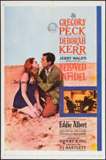"Movie Posters:Drama, Beloved Infidel (20th Century Fox, 1959). One Sheet (27"" X 41"").Drama.. ..."