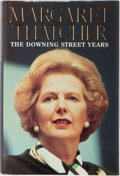 Books:Biography & Memoir, Margaret Thatcher. SIGNED. The Downing Street Years.HarperCollins, 1993. First edition, first printing. Signe...