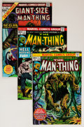 Bronze Age (1970-1979):Horror, Man-Thing Group (Marvel, 1974-75) Condition: Average VF+....(Total: 39 Comic Books)
