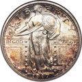 Standing Liberty Quarters, 1917-S 25C Type One MS66 Full Head NGC....